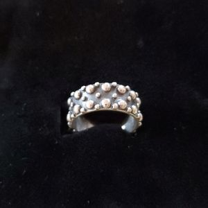 925 Wide silver ring
